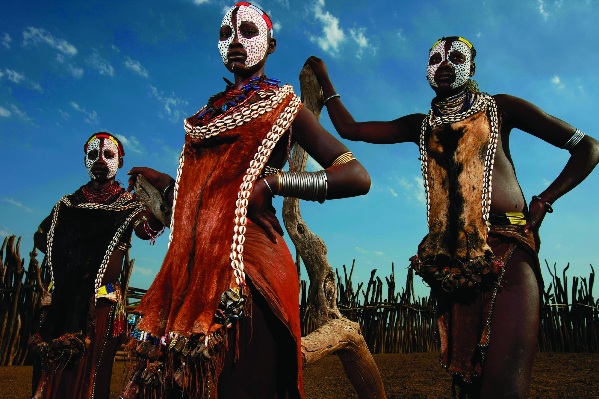 Фото девушек из африканских племен 3 фотография