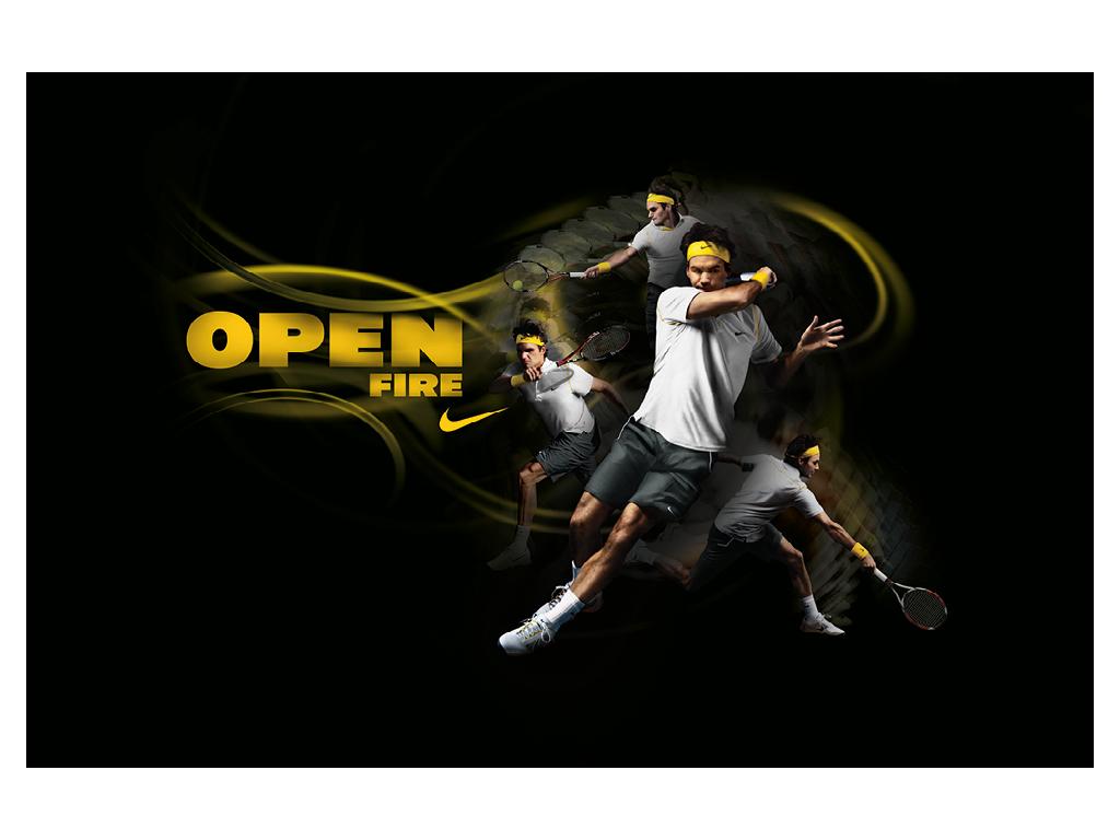 Nike Australian Open Environmental Advertisements Graphis