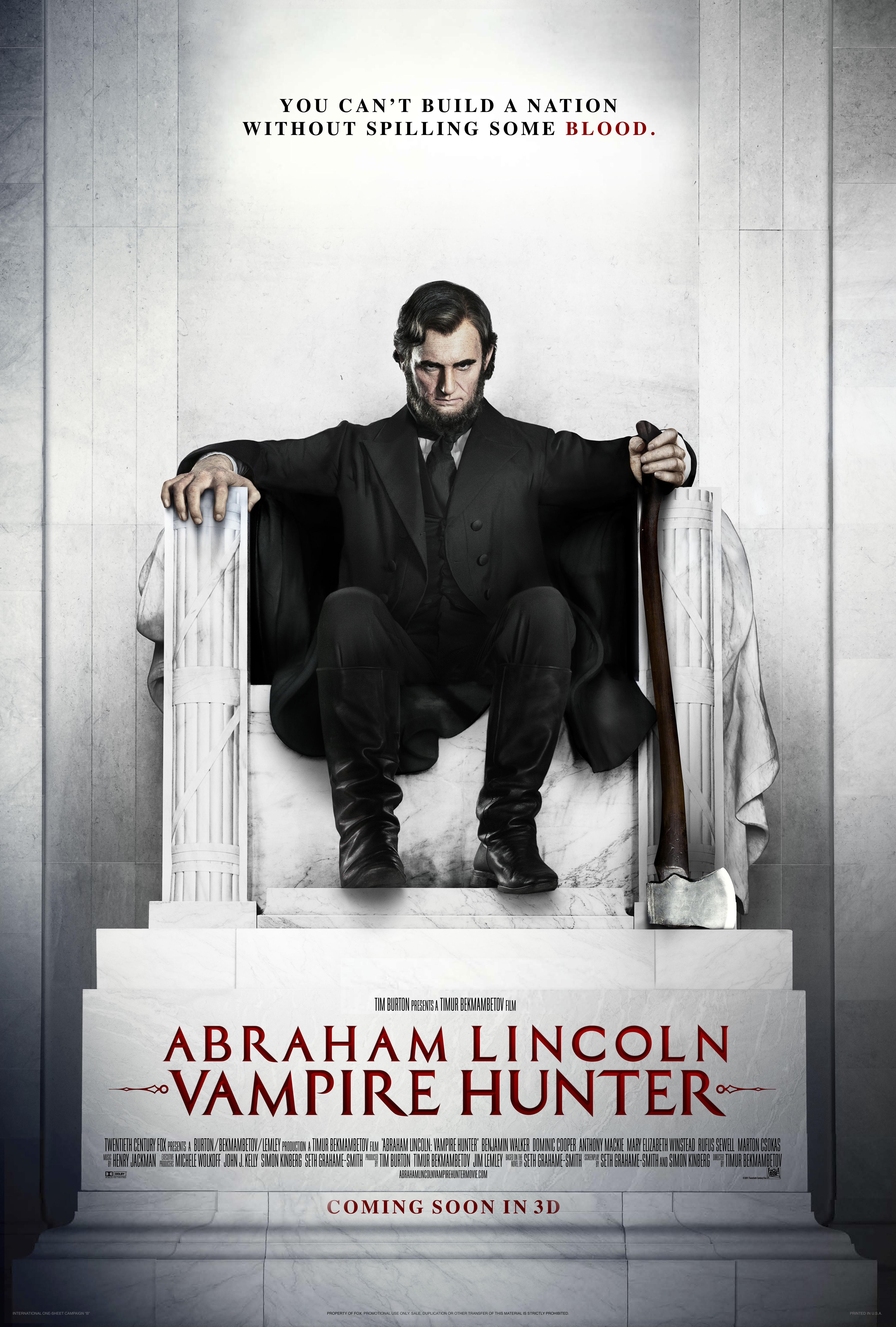 Abraham Lincoln Vampire Hunter Graphis