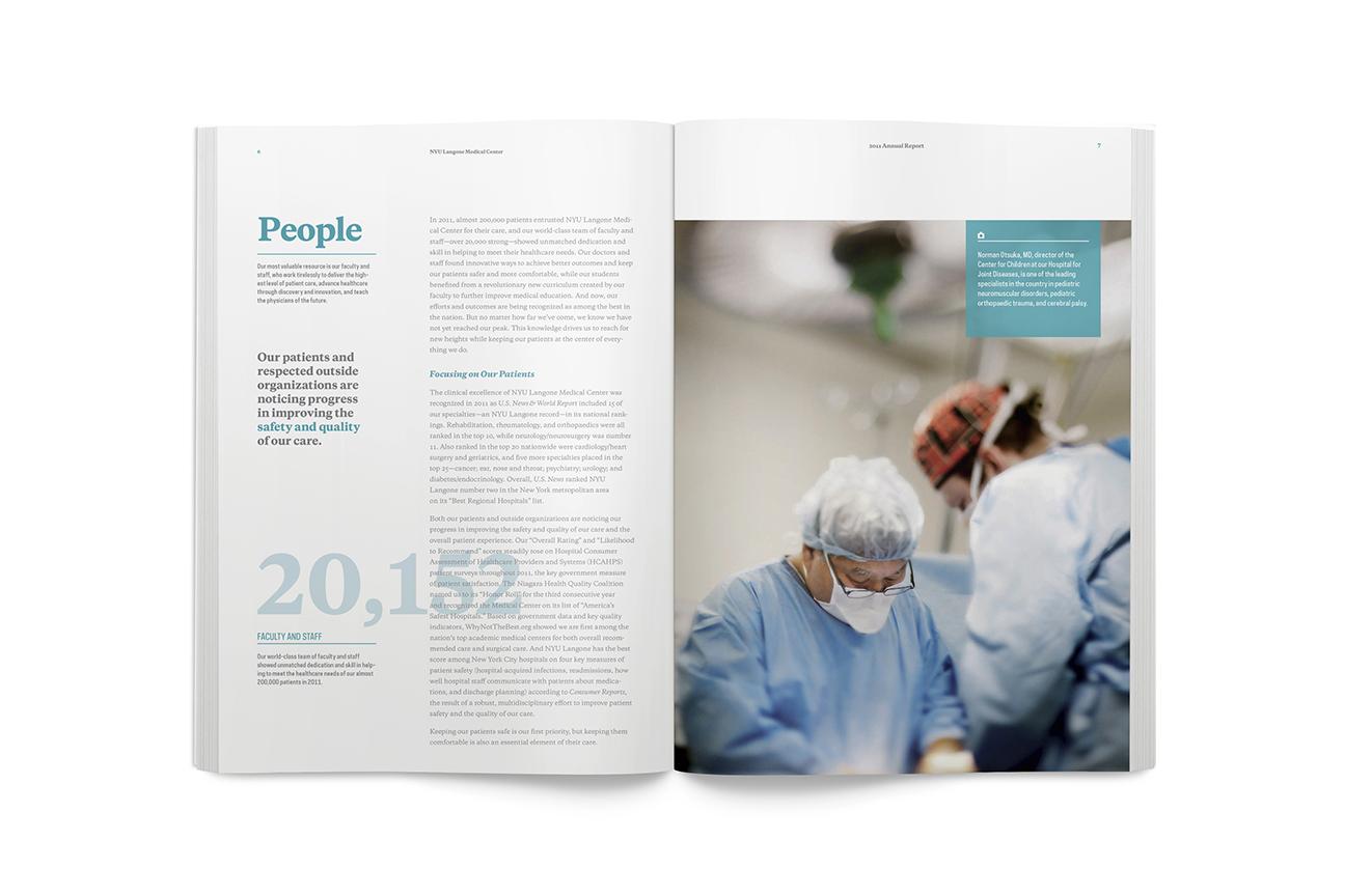 NYU Langone Medical Center - Graphis