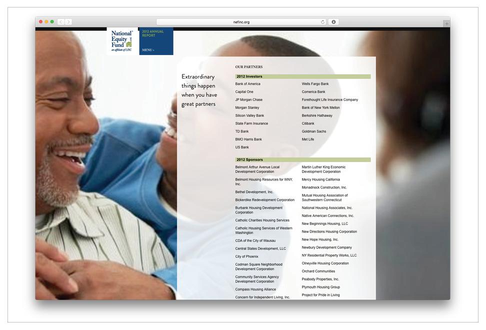 NEF 2012 Annual Report - Graphis