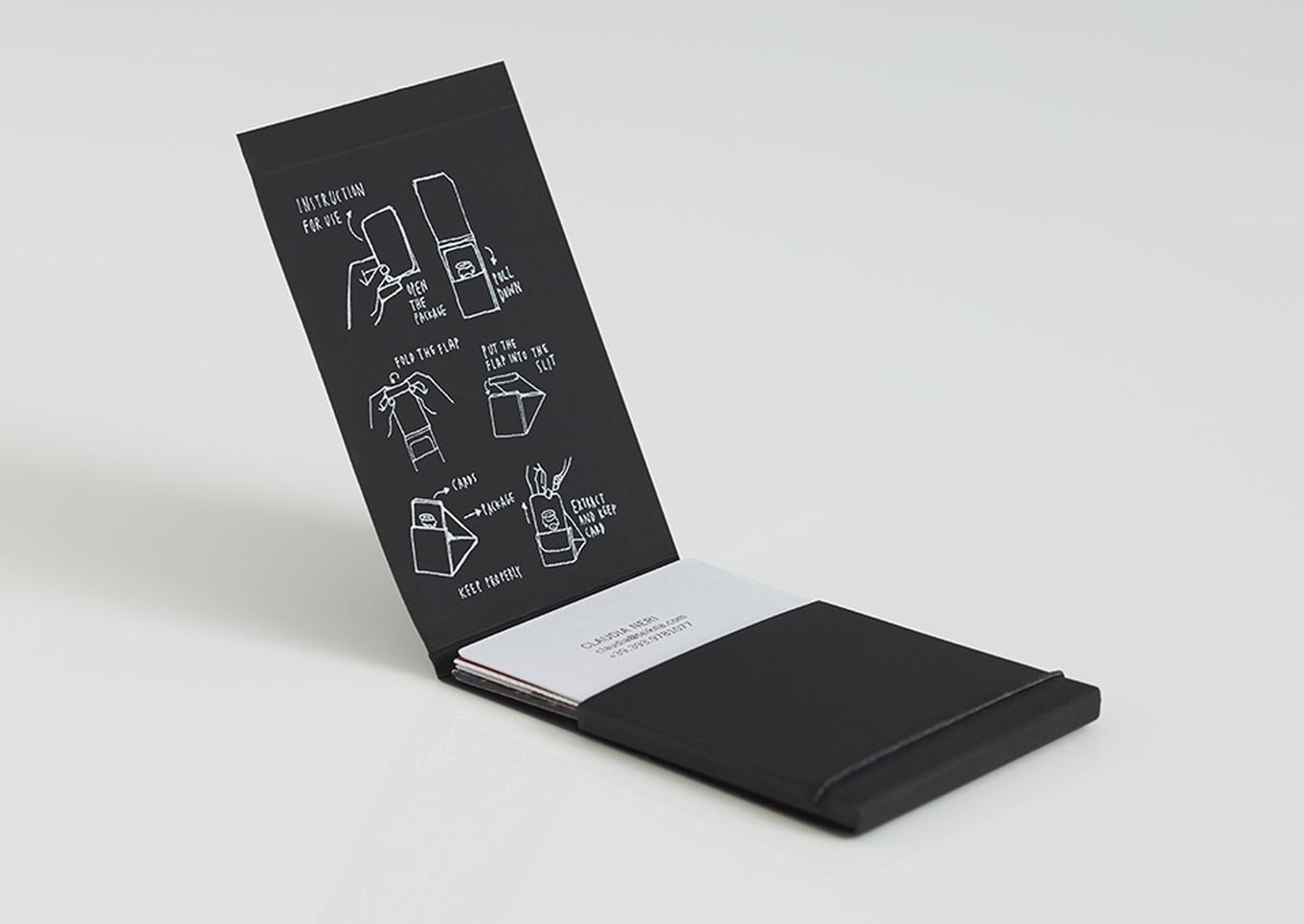 Teikna Design business card and display - Graphis