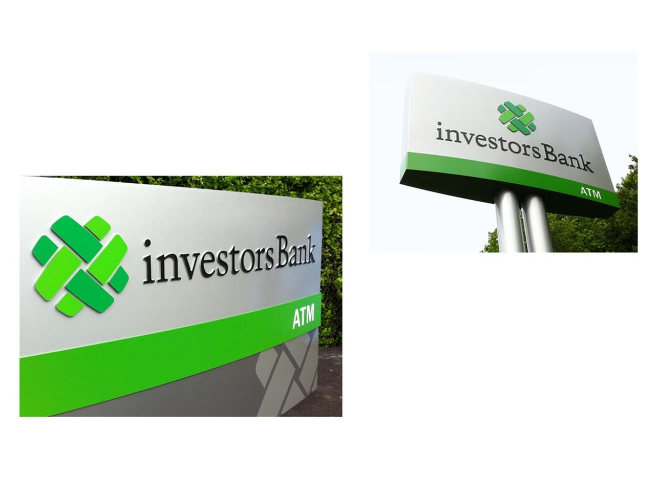 Investors Bank Rebranding Graphis