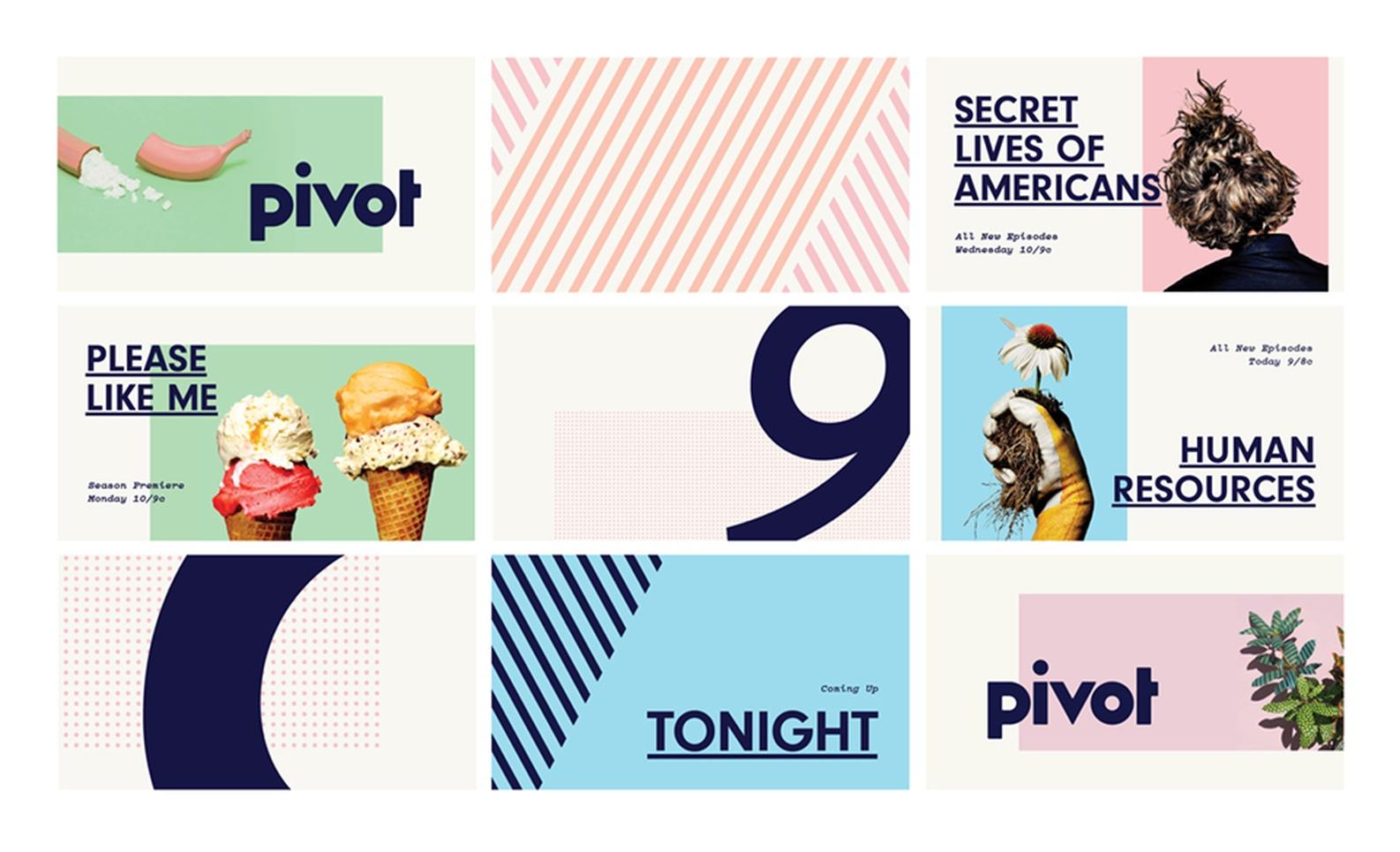 Pivot TV - Graphis