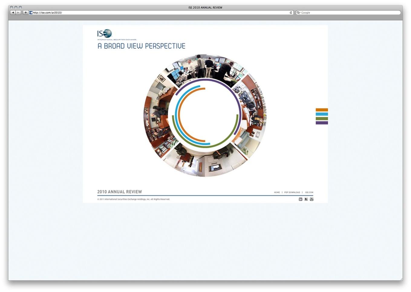 International Securities Exchanget 2010 Interactive Annual
