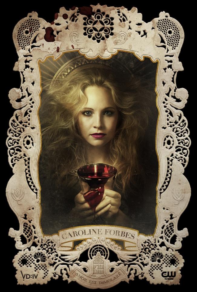 The Vampire Diaries Season 4 Cards Graphis