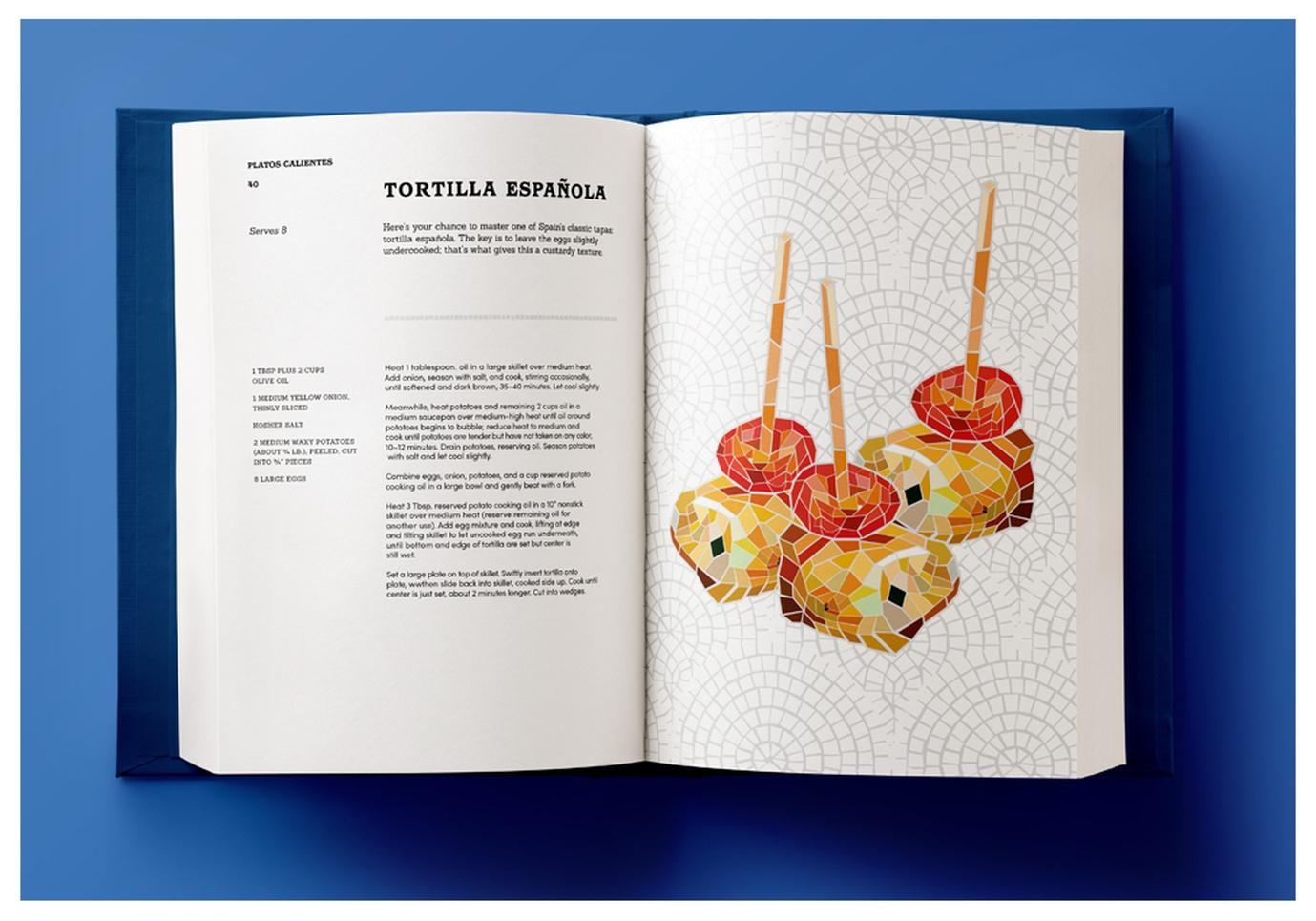 El Alma Tapas Recipe Book - Graphis