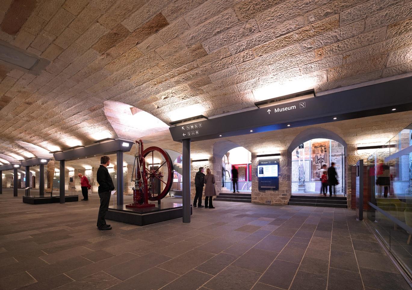The national museum of scotland graphis for Interior design agency edinburgh