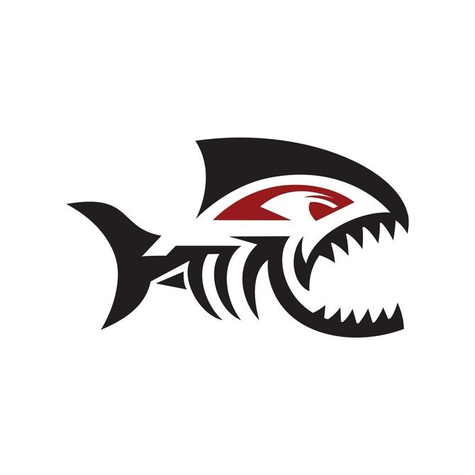Piranha Extreme Sports Logo Database Graphis