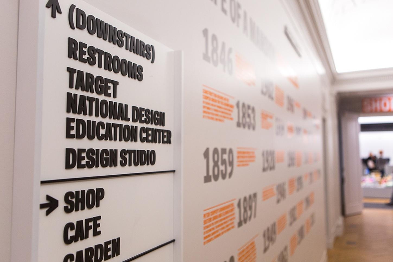 Cooper Hewitt Smithsonian Design Museum Signage And
