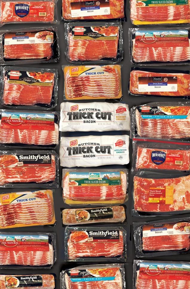 oscar mayer butcher thick cut bacon graphis