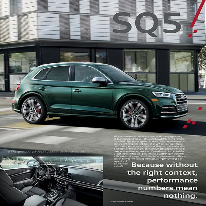 2019 Audi Q5: 2018 Audi Q5 Brochure
