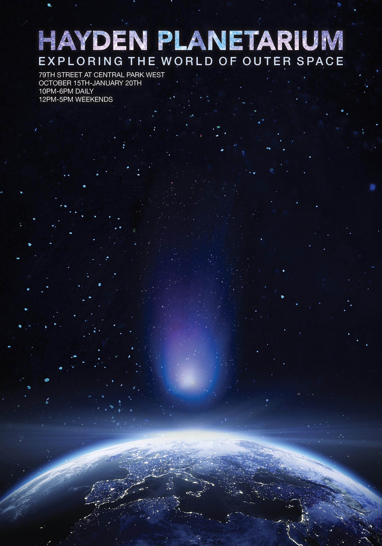 Hayden Planetarium Poster - Graphis