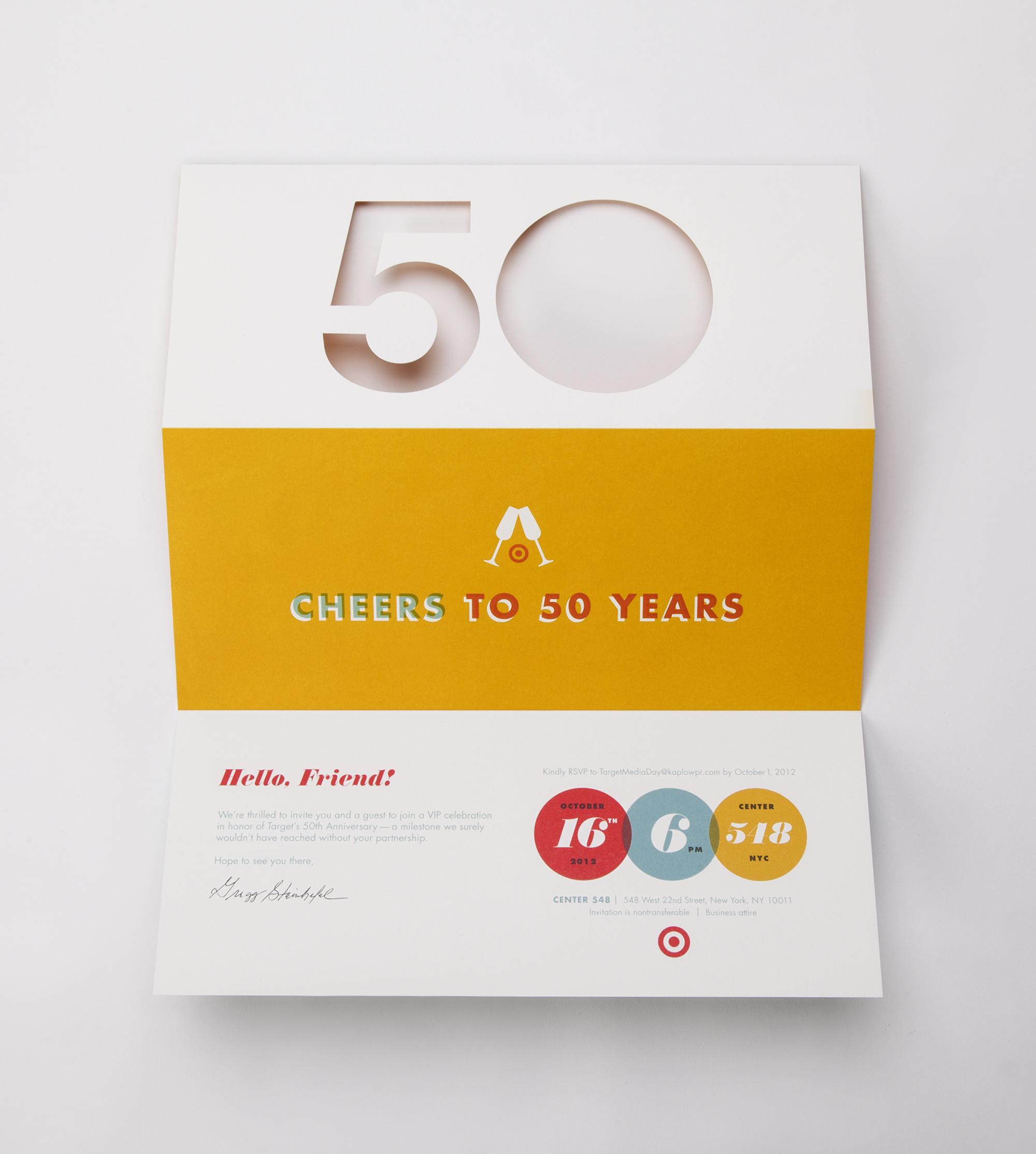 target 5 year anniversary