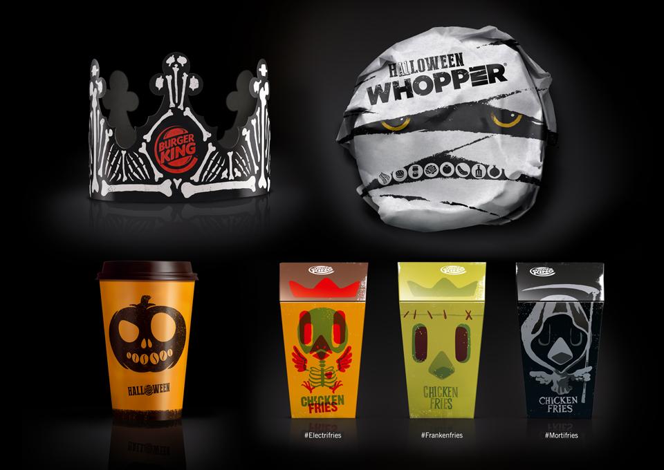 Burger King Halloween Packaging