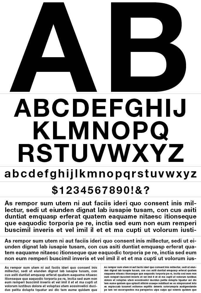 Helvetica Neue Bold - Graphis