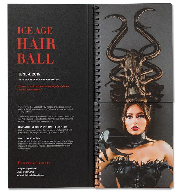 Ice Age Hair Ball Invitation Graphis