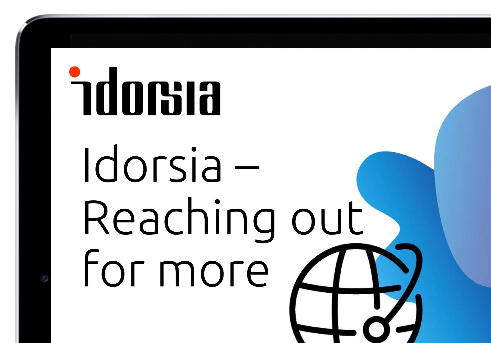 Idorsia Pharmaceuticals Brand Identity Graphis