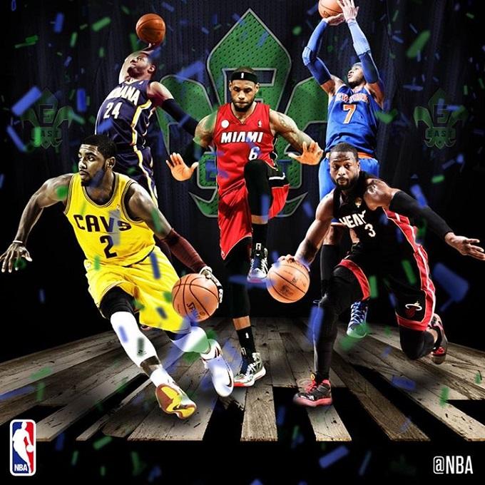 NBA Social Graphics
