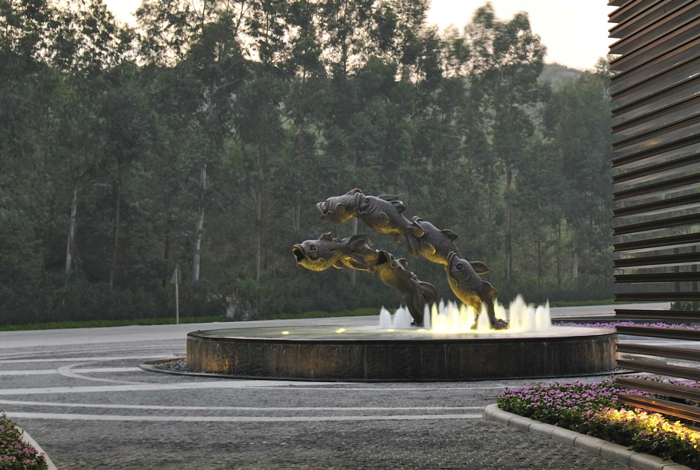 Fish In The Garden Resort Qingyaun China Graphis
