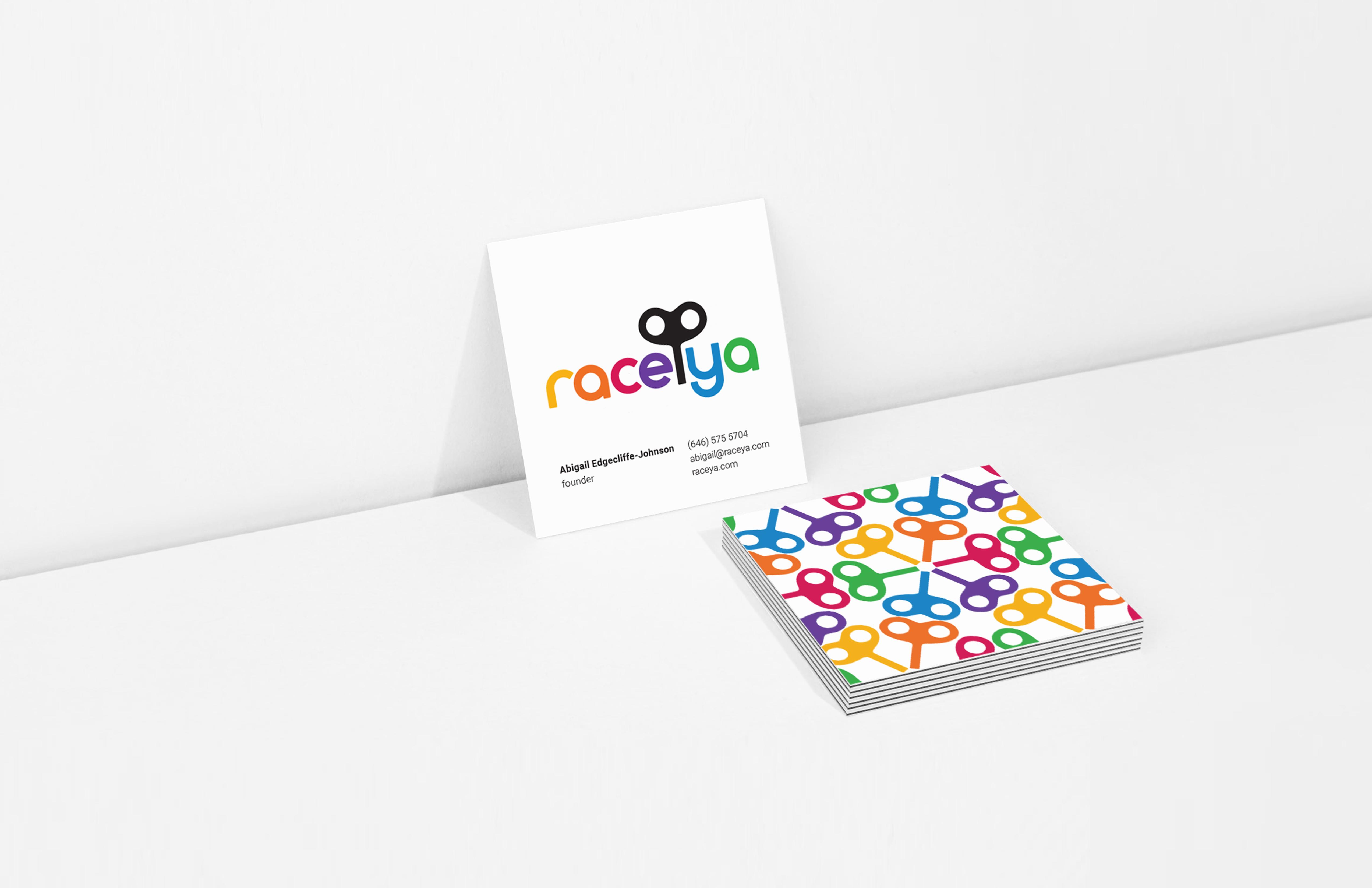 RaceYa Branding Graphis