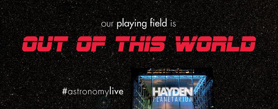 Hayden Planetarium - #astronomylive - Graphis
