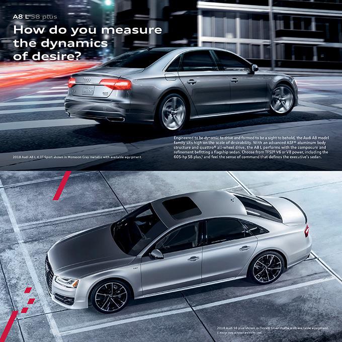 2018 Audi A8 Brochure
