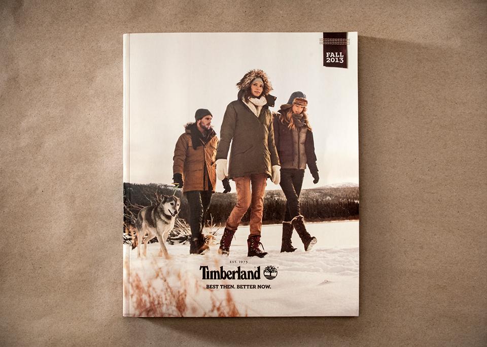 Markenqualität preisreduziert verkauf uk Timberland Fall 2013 Catalog - Graphis