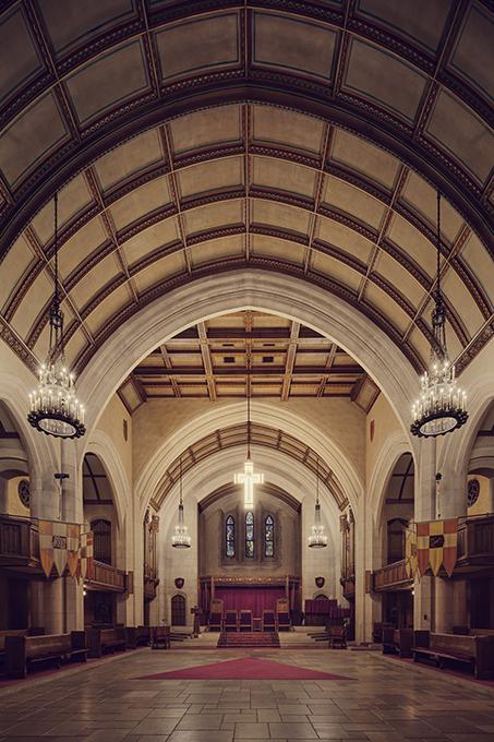 Detroit Masonic Temple Sanctuary - Graphis