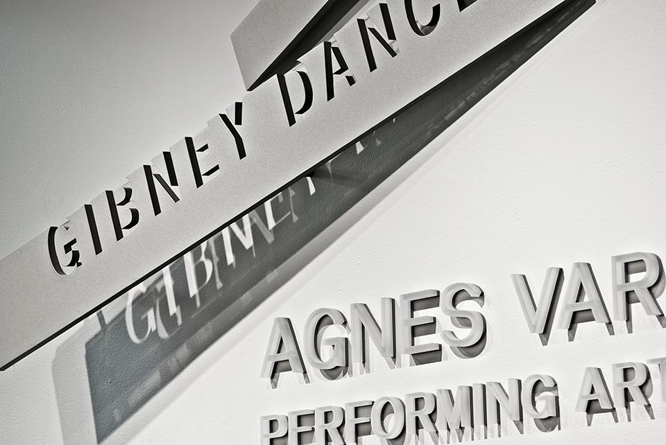 Gibney Dance/Agnes Varis Performing Arts Center - Graphis
