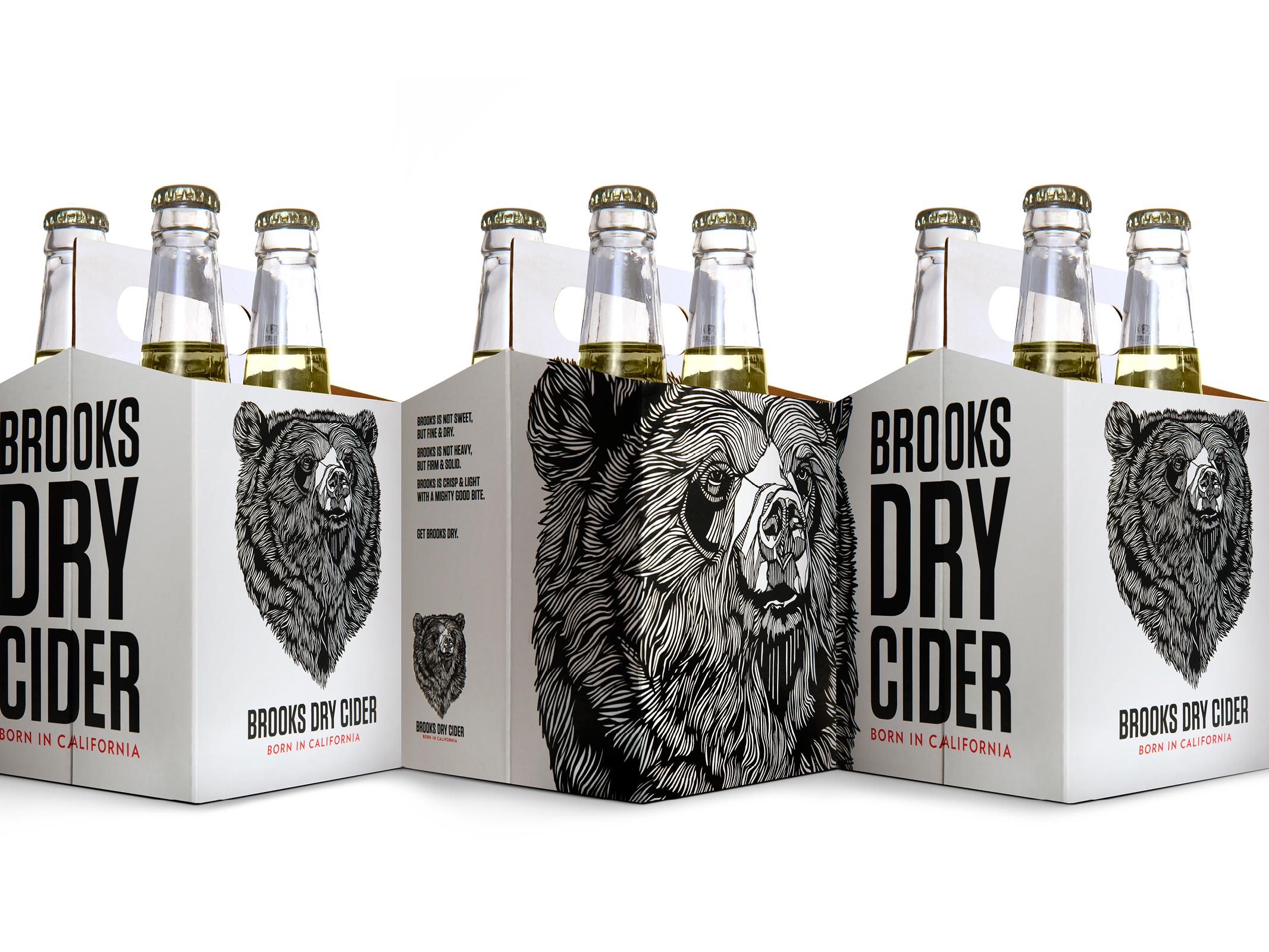 Brooks Dry Cider Graphis