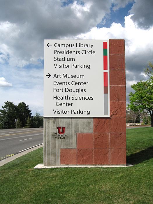 University of Utah Environmental Graphics Master Plan - Graphis
