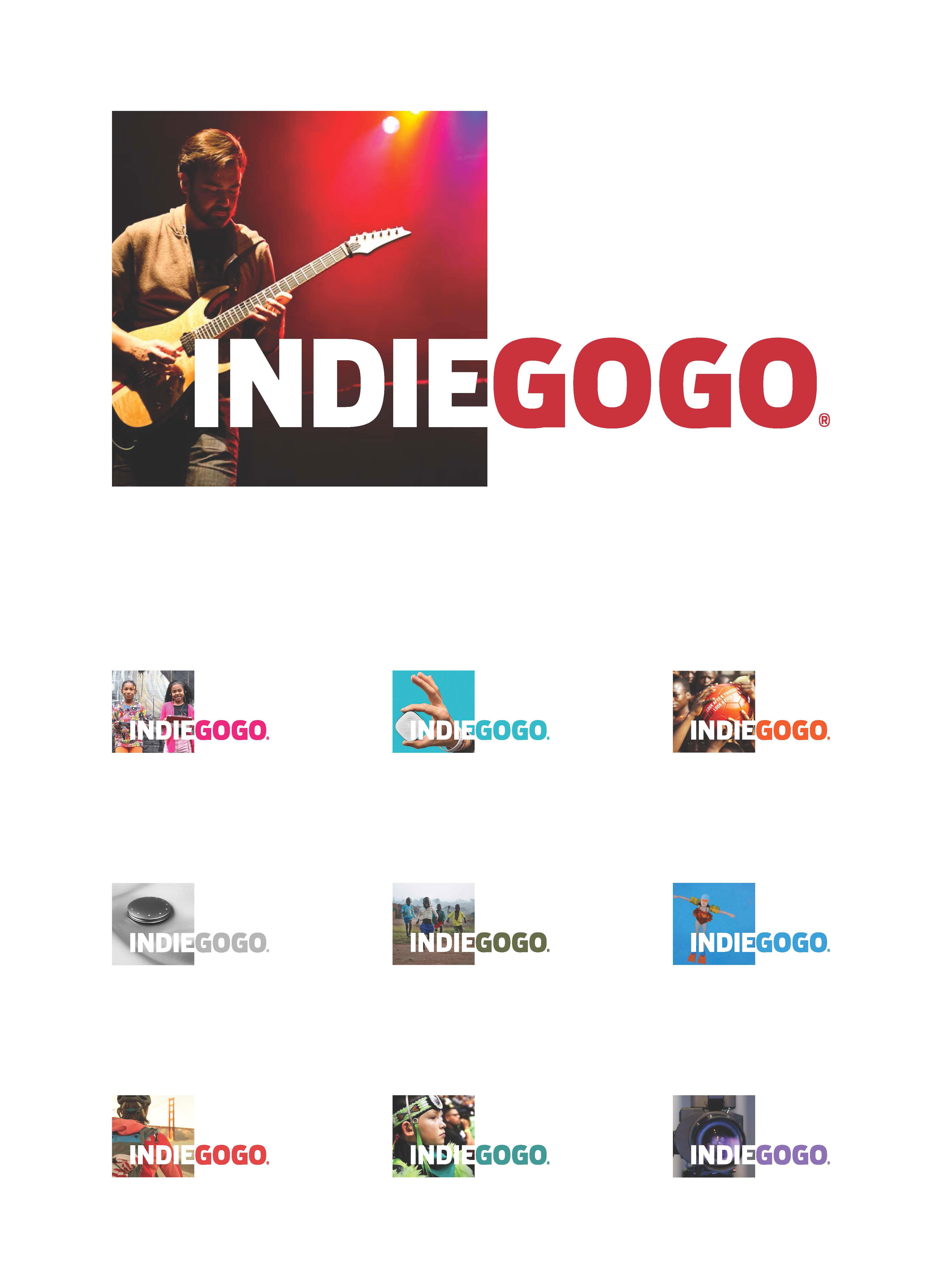 015ced9c121 Indiegogo Logo Design - Graphis