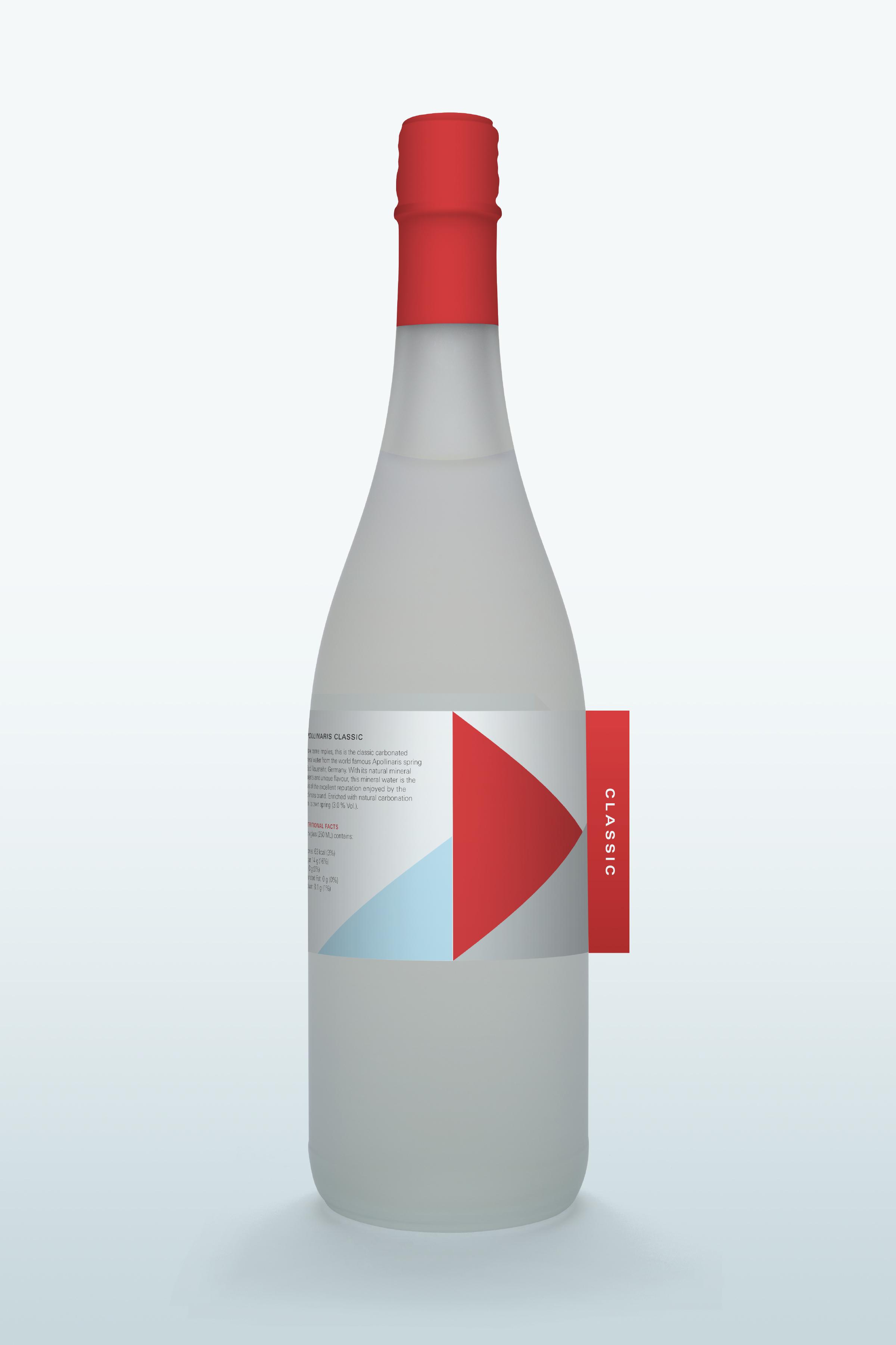 apollinaris water bottle