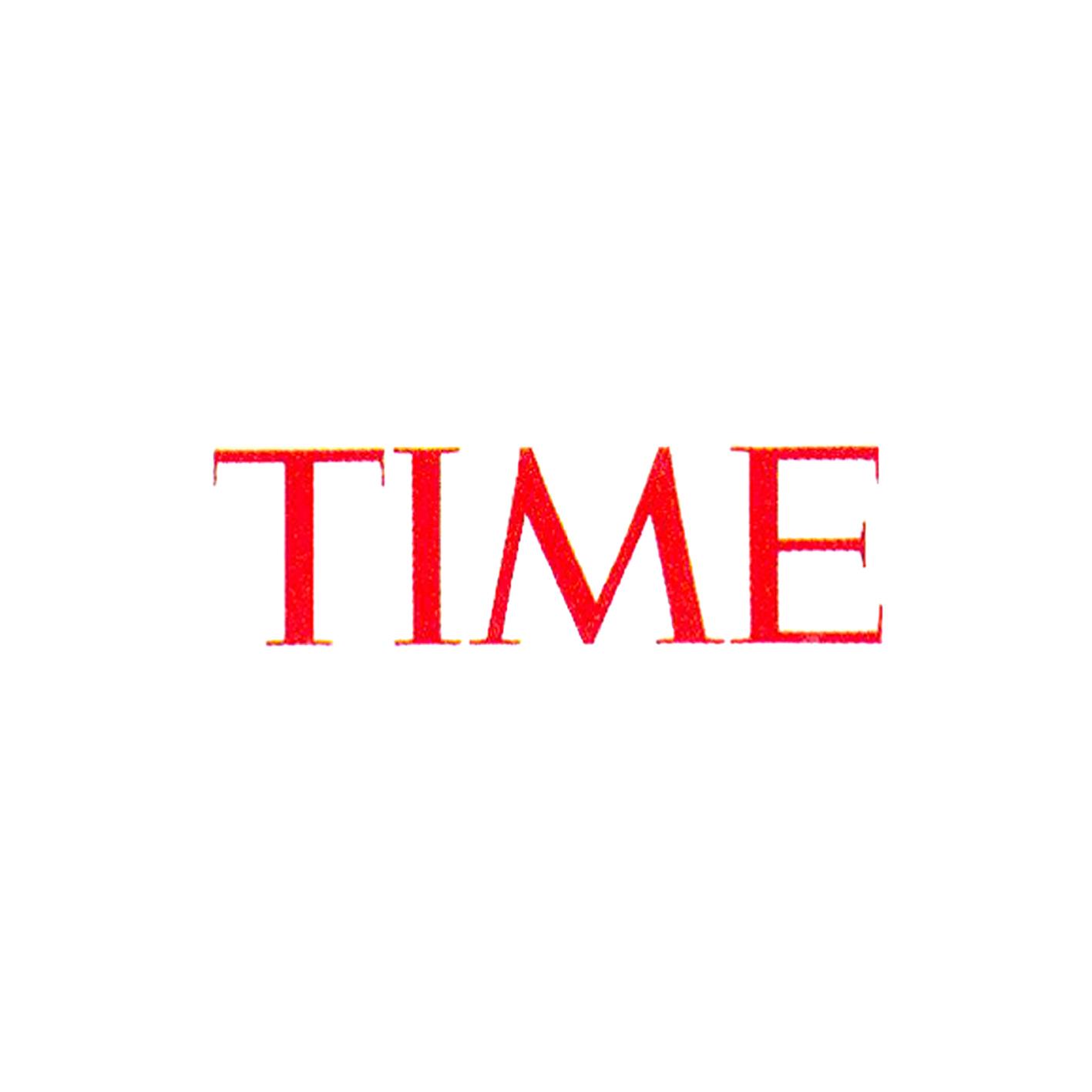 time magazine logo graphis